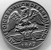 San Patricio Badge