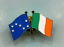 Starry Plough/Ireland Badge