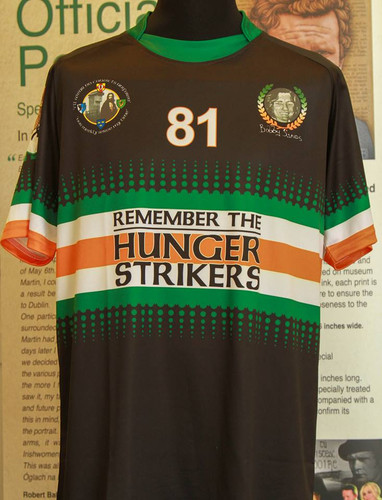 Bobby Sands-Remember The Hunger Strikers Jersey