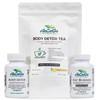 Anzaga weight loss Kit #3 Body detox, Fat burner, Detox tea- Paquete #3perdida de peso