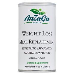 Anzaga Meal Replacement Vanilla, 1 lb.- Anzaga Sustituto de Comida Vainilla, 1 lb.