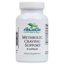 Anzaga Metabolic/ Craving Support /Appetite suppressant  90 capsules-Anzaga Control de petito, Ansiedad, /Acelerador Metabolico 90 Capsulas.