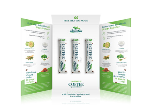28 Day Coffee Travel Kit / Cafe 28 Dias Quemador muestra