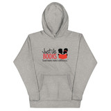 Good Books Make a Difference Unisex Hoodie (GRAY)
