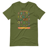 I Know My Alphabet Men's T-Shirt (OLIVE)