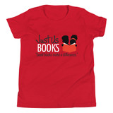 Good Books Make a Difference Kids' T-Shirt (RED)