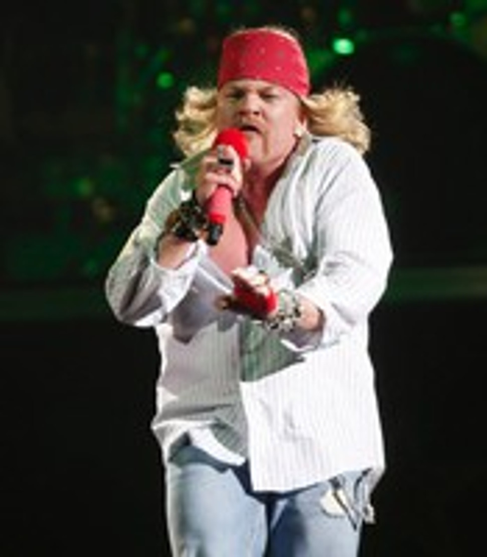 AXL ROSE IS AC/DC's NEW SINGER