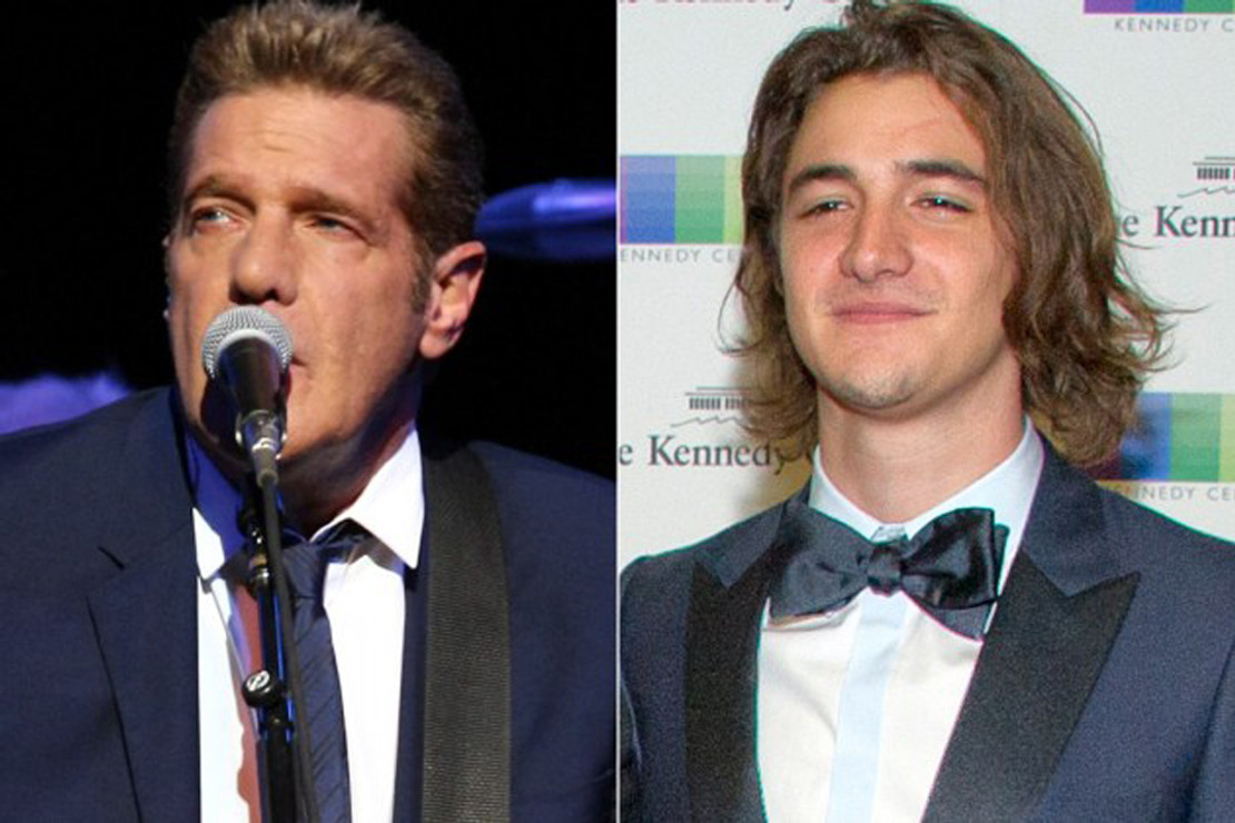 GLENN FREY'S SON TO TAKE HIS PLACE IN THE EAGLES