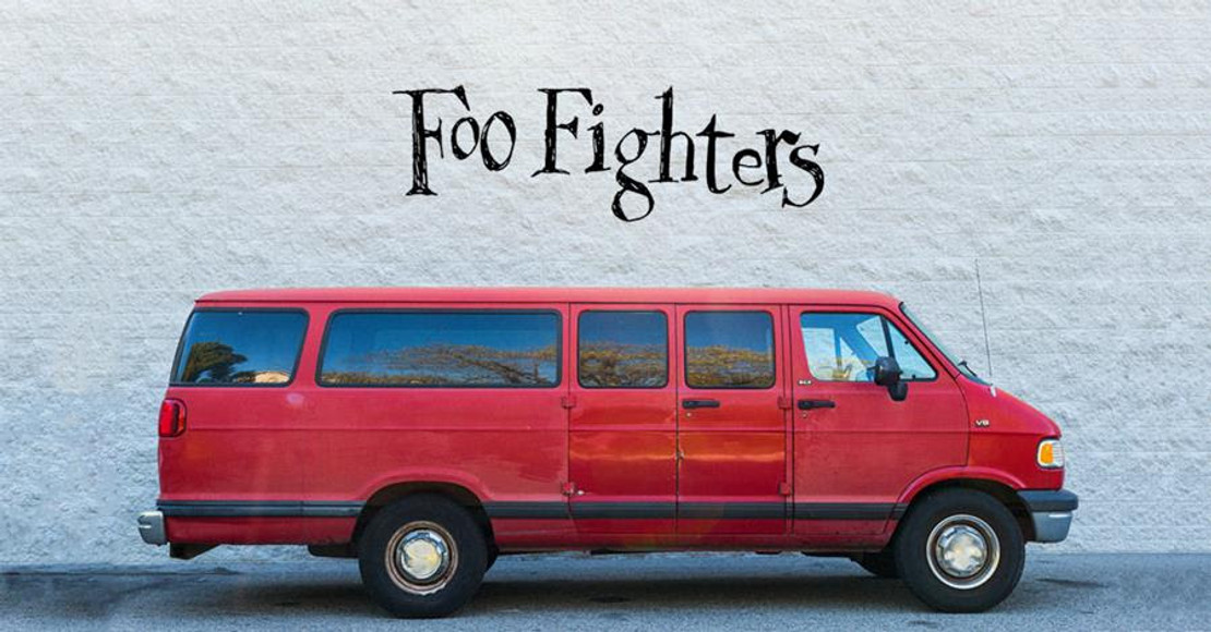FOO FIGHTERS TOUR 2020 - FOR THEIR FANS NAMED AFTER THEIR VAN