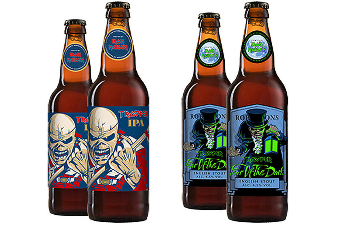 NEW BEERS BY IRON MAIDEN