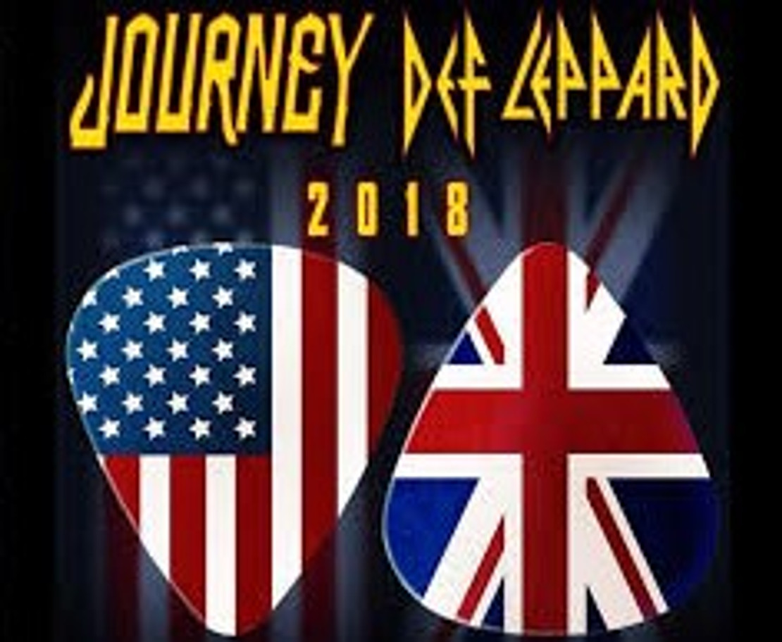 DEF LEPPARD & JOURNEY TO TOUR IN 2018