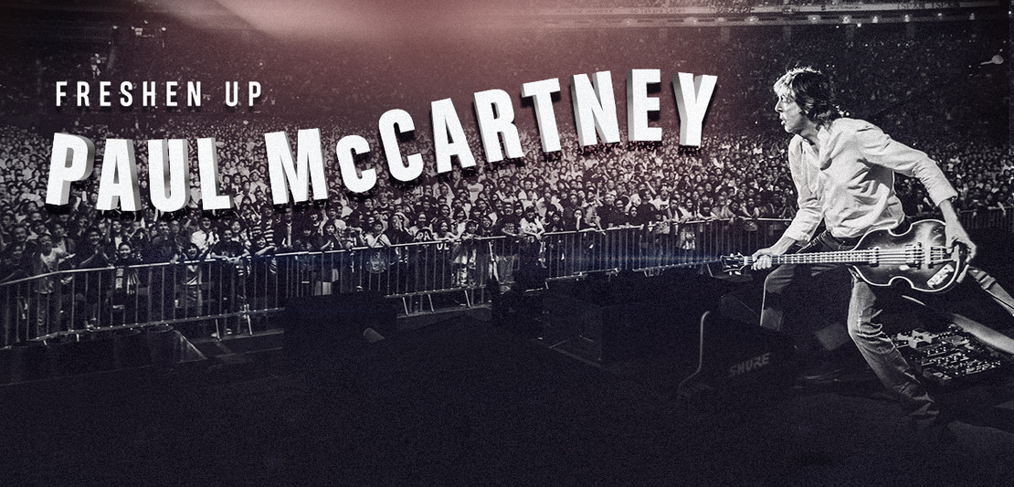 """Paul McCartney Announces """"Freshen Up"""" Tour"""