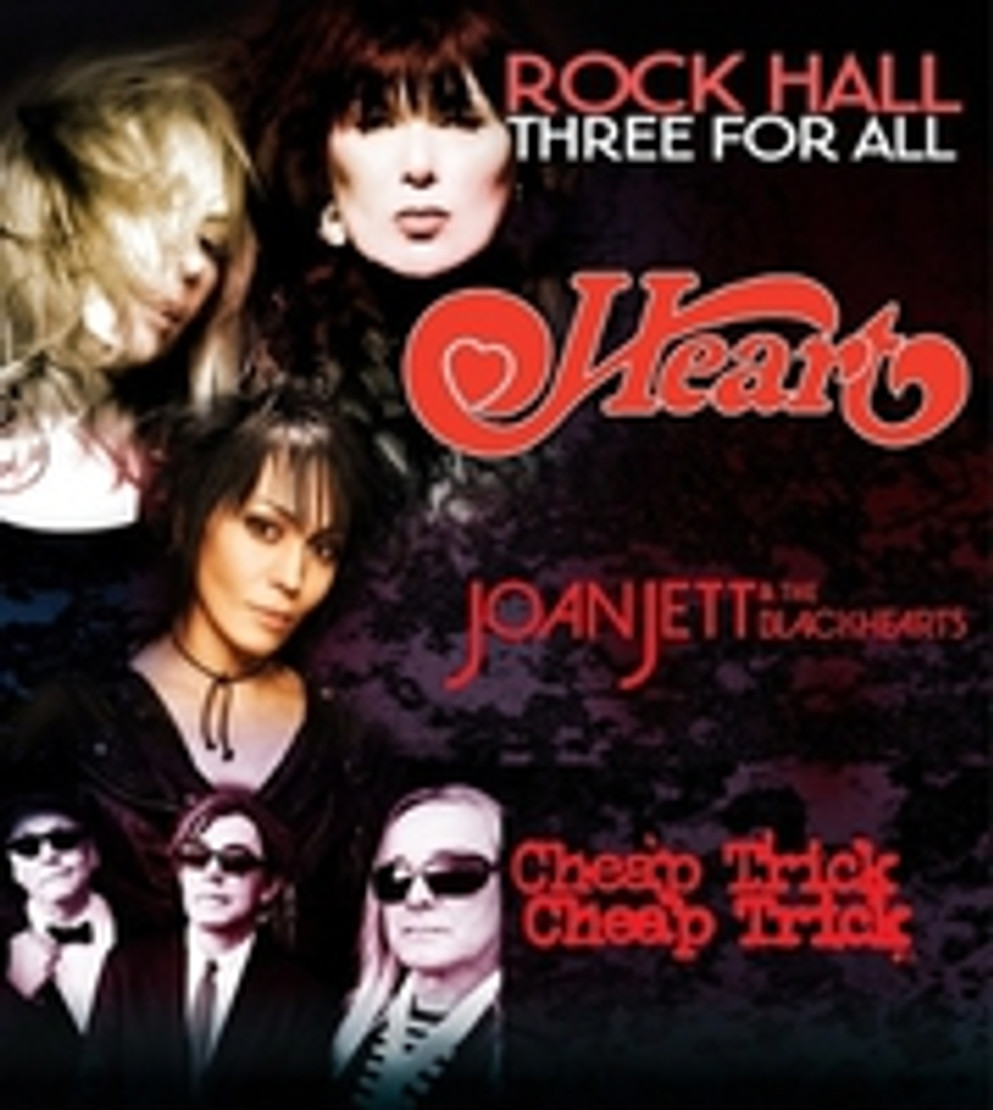 Heart, Joan Jett & the Blackhearts and Cheap Trick to Co-Headline 2016 Summer Tour