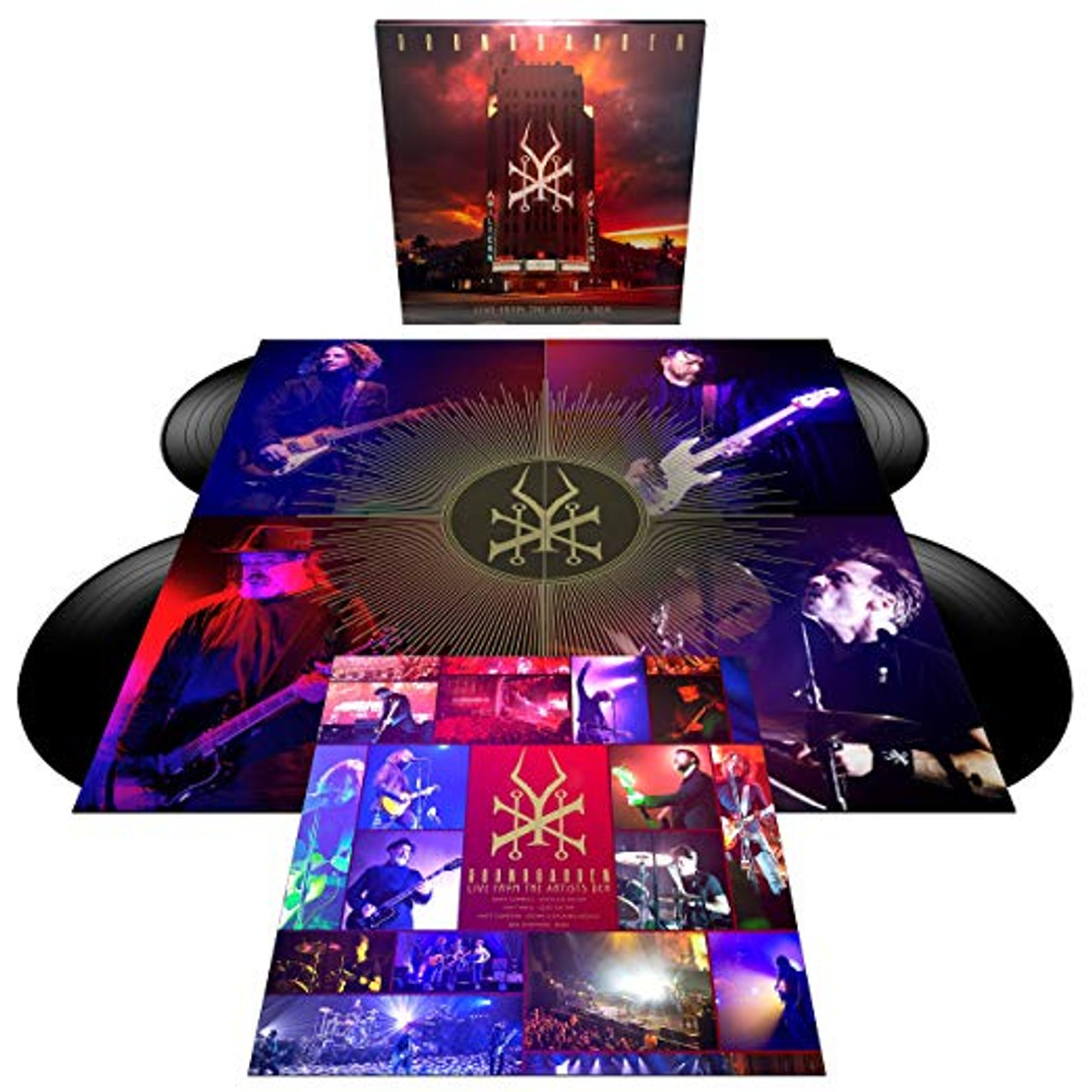 SOUNDGARDEN - Releasing Live From the Artist's Den Super Deluxe Box