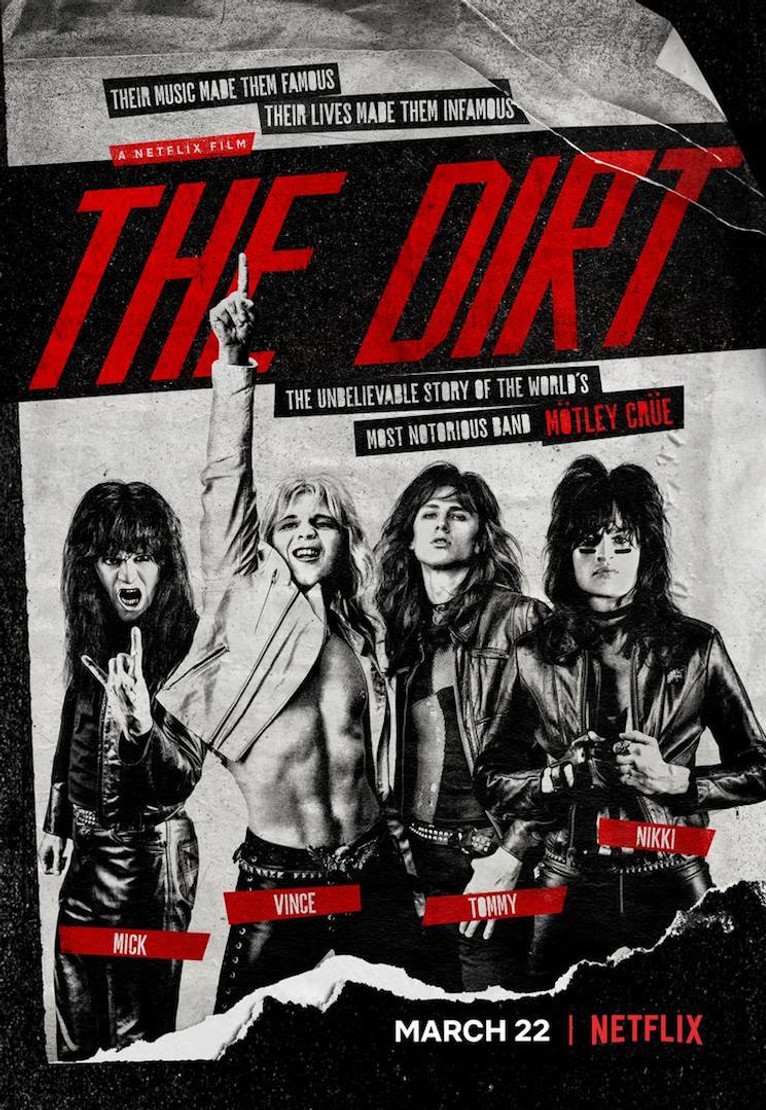 "Motley Crue's ""The Dirt"" Movie Coming to Netflix (Trailer)"