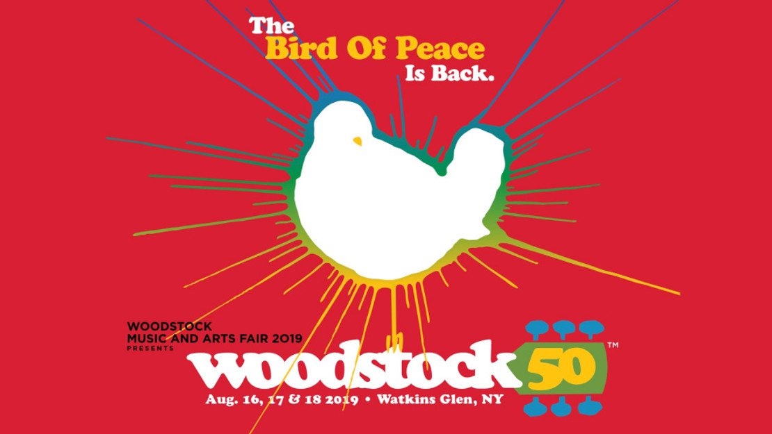Official Woodstock Lineup Announced