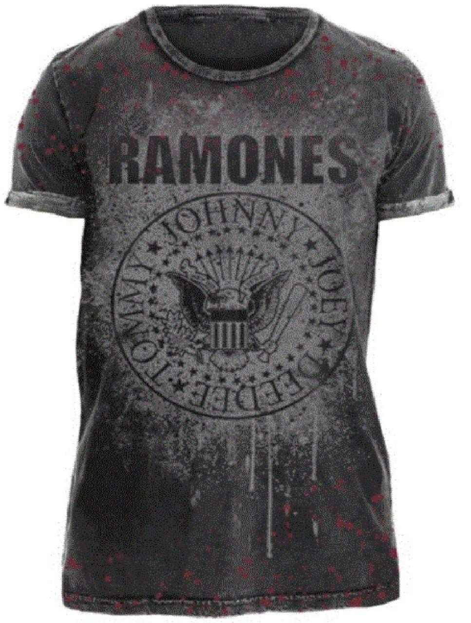 3e2c03094fdea Ramones Vintage T-shirt - Presidential Seal. Men s Gray