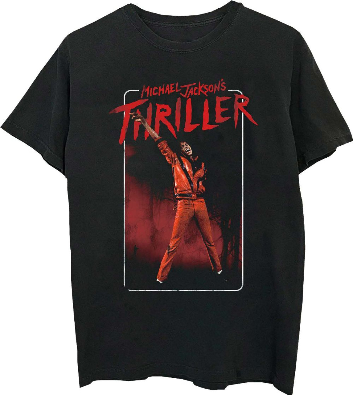 8305ea1c2f Michael Jackson T-shirt - Thriller Music Video | Men's Black Shirt