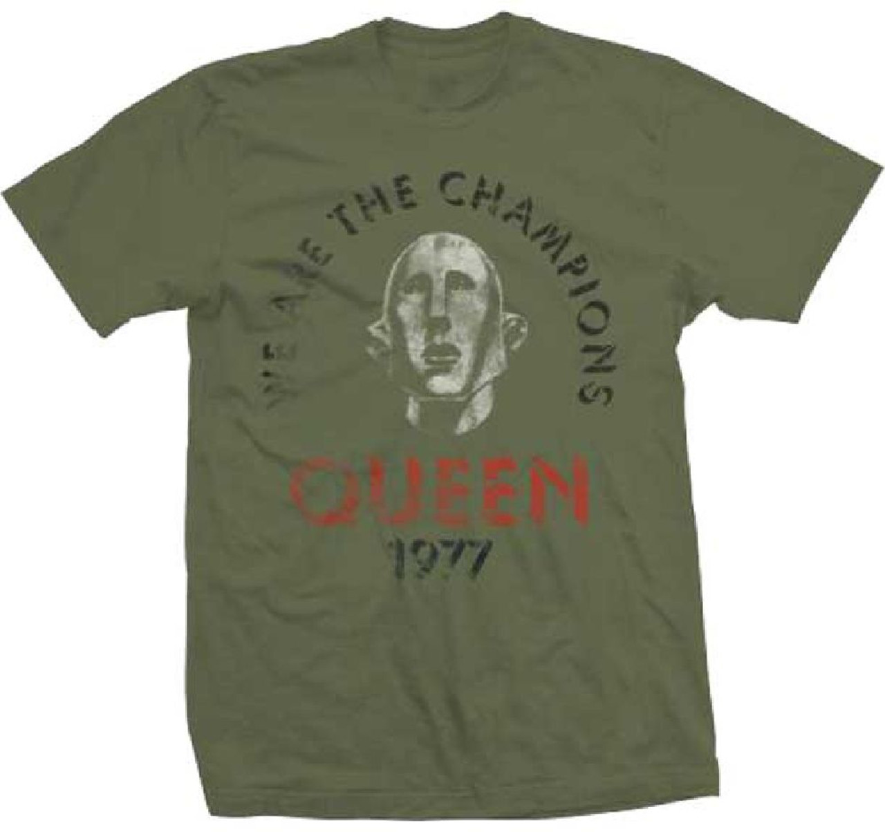 026da34e5 Queen Vintage T-Shirt - We Are the Champions 1977