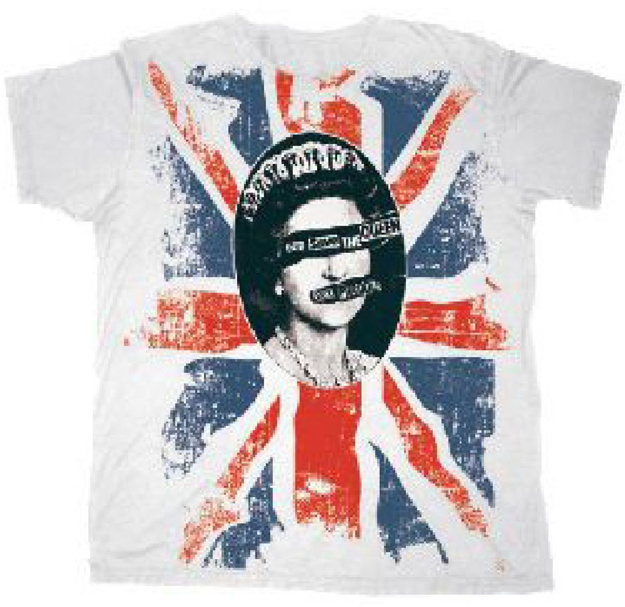 Top sex pistols official flag god save the queen shirt, hoodie, sweater, longsleeve