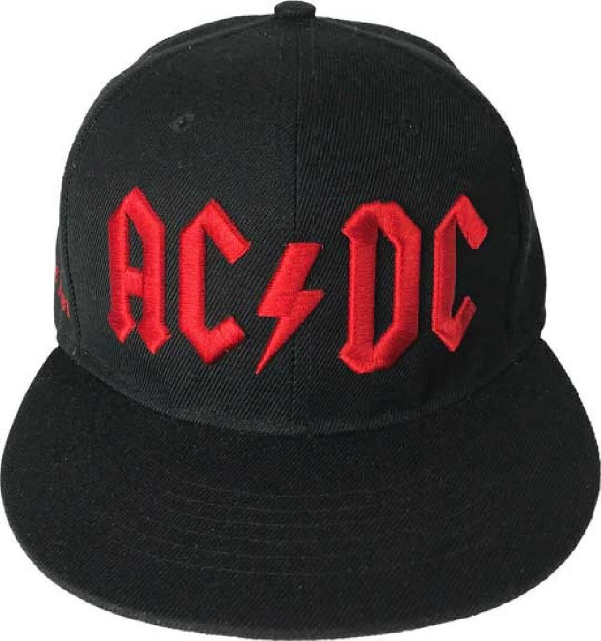 Acdc Logo Black Baseball Hat  Rocker Rags-7643