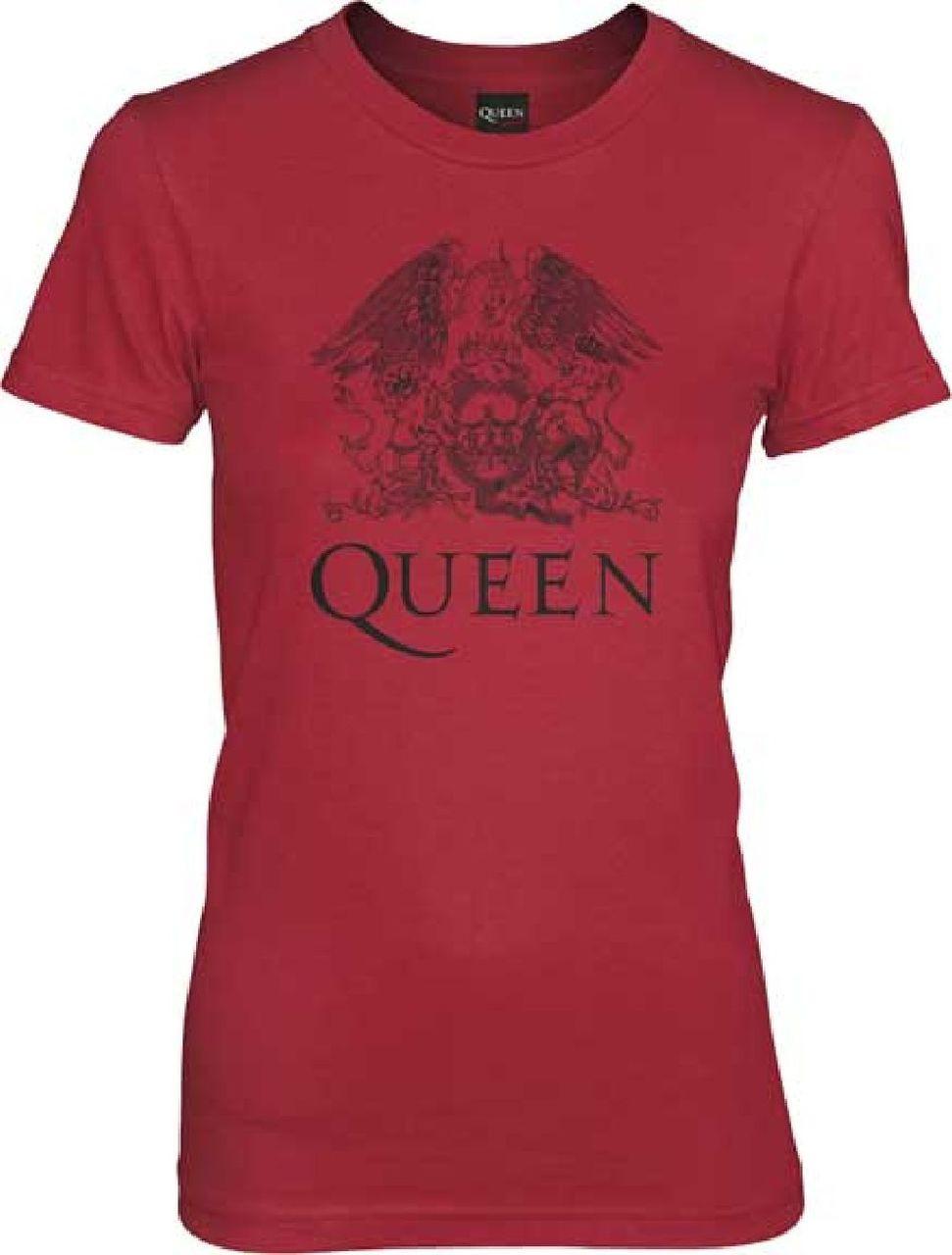 Queen T,shirt , Queen Rock Band Crest Logo