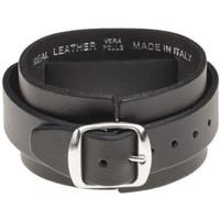 AC/DC ACDC Logo Leather Wrisstrap Bracelet Cuff by Alchemy of England - buckle