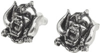 Motorhead Snaggletooth War Pig Logo Earrings by Alchemy of England