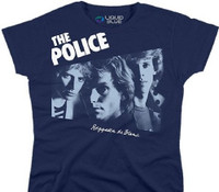 The Police Reggatta de Blanc Women's Blue T-shirt