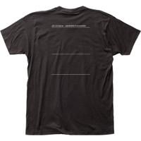 Joy Division Unknown Pleasures Album Cover Artwork Men's Unisex Black Fashion T-shirt - back