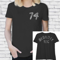 Blondie Women's Black Fashion T-shirt