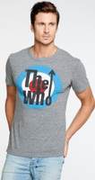 The Who Target Logo Men's Gray Vintage Fashion T-shirt by Chaser - side