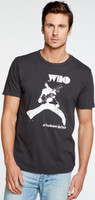 The Who at The Boston Tea Party Men's Black Vintage Fashion T-shirt by Chaser - 1