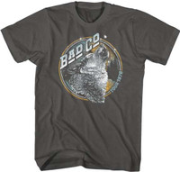 Bad Company Tour 1976 Men's Unisex Gray Vintage Fashion Concert T-shirt