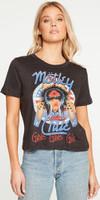 Motley Crue Girls Girls Girls Logo Women's Black Vintage Fashion Cropped T-shirt by Chaser