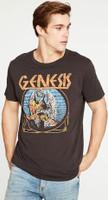Genesis Bird Logo Men's Black Vintage Fashion T-shirt by Chaser - side