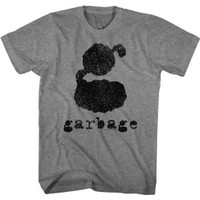 Garbage Alternative Rock Band Not Your Kind of People Album Cover Artwork Men's Unisex Vintage Gray Fashion T-shirt