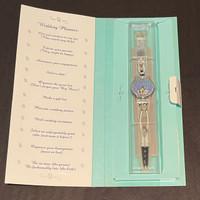 Swatch Watch GV110 Wedding Planner Vintage Unisex Fashion Watch - open packaging