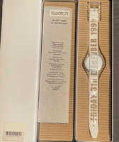 Swatch GK302 The Last Swatch of the Millennium Vintage Unisex Fashion Watch - special packaging
