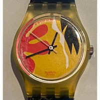 Swatch Nafea LK104 Women's Vintage Fashion Watch - face