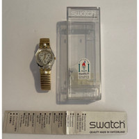 Swatch LK151 Women's Vintage Fashion Watch - instruction manual