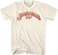 Steve Miller Band Logo Men's Unisex Beige Vintage Fashion T-shirt