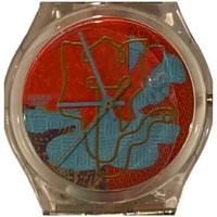 Swatch GK310 Madan by Otto Steininger Vintage Unisex Fashion Watch - face close up