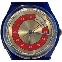 Swatch GN190 London Vintage Unisex Fashion Watch - face