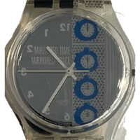 Swatch GK271 Time 4 by Laura Grisi Vintage Unisex Fashion Watch - face