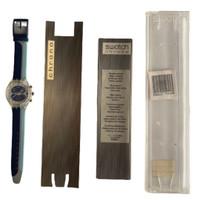 Swatch SCK412 Waterspeed Chrono Vintage Unisex Fashion Watch - instruction manual Chrono insert