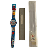 Swatch GN156 Good Morning Vintage Unisex Fashion Watch - instruction manual