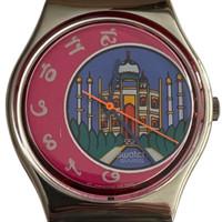 Swatch GX125 Dehli Vintage Unisex Fashion Watch - face