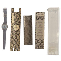 Swatch SKZ118 Musee Olympique Access Vintage Unisex Fashion Watch - instruction and Swatch Club manuals