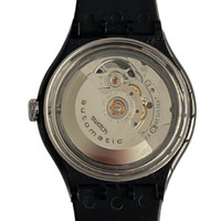 Swatch SAB103 Black Board Vintage Automatic Movement Unisex Fashion Watch - back
